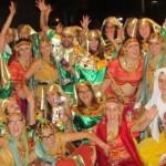 Danza y percusión en la Cabalgata de Reyes