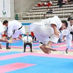 Doble medalla del karate Echeyde