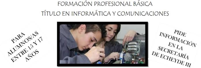 Formación Profesional Básica