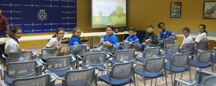 Fundación Canarias Recicla premia al Colegio Echeyde de Santa Cruz