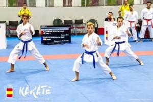 Club Echeyde: medalla bronce en kata.