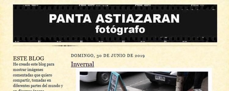 Entrevistamos a Panta Astiazarán: ajedrez y fotografía